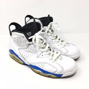 Men's Nike Air Jordan Retro VI 6 Sport Blue Sz 12